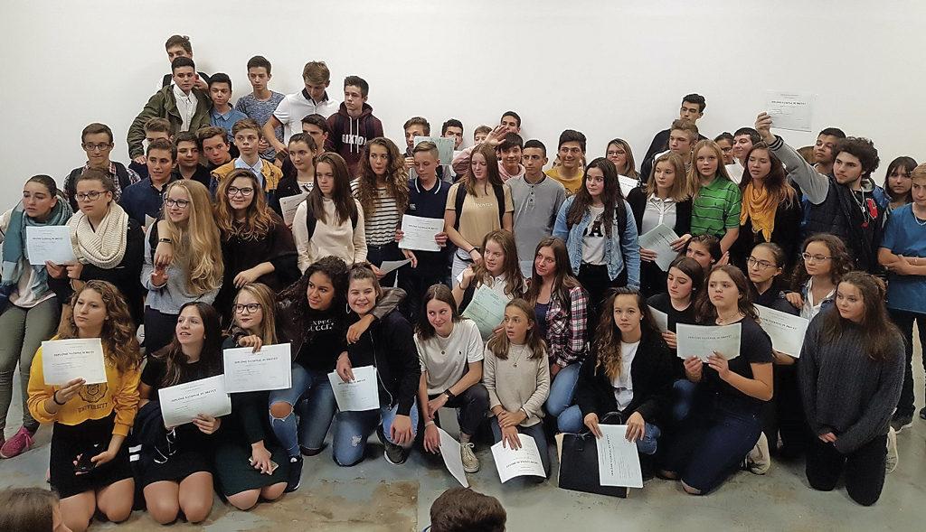 Les résultats du Brevet des collèges Jeanne d'Arc
